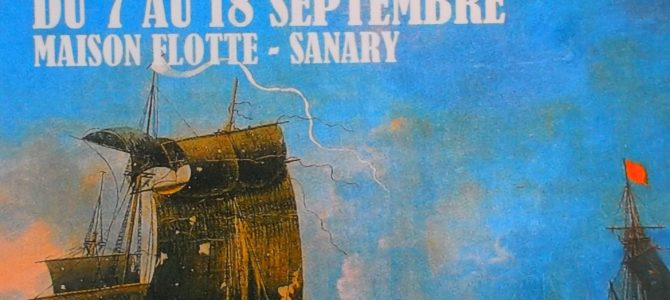 "Local Provence coast heroes in America – Art exhibit in Sanary – ""1778"""